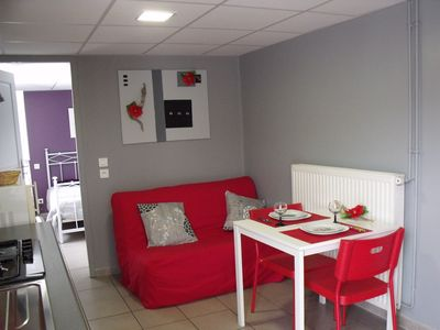 Photo for Charming T1 apartment in Hendaye