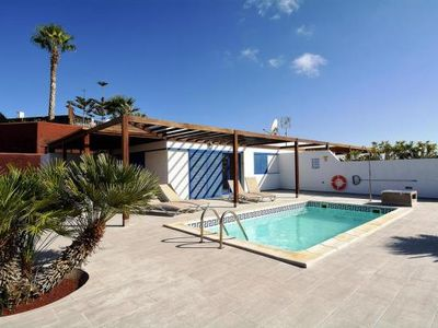 Photo for Holiday home, Playa Blanca  in Süd - 2 persons, 2 bedrooms