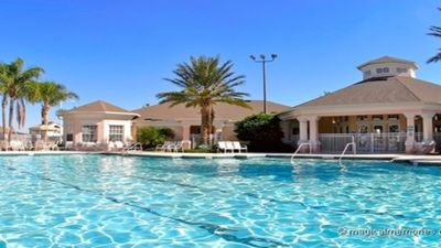 Photo for Budget Getaway - Windsor Palms Resort - Feature Packed Relaxing 3 Beds 3 Baths Townhome - 3 Miles To Disney