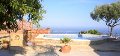 Photo for House with incredible views of Nerja and the Mediterranean