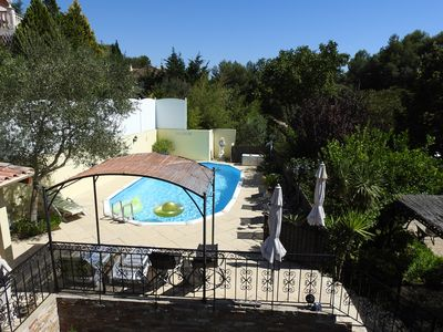 Photo for Charming villa near cassis located between sea / hills 5mm beaches WIFI