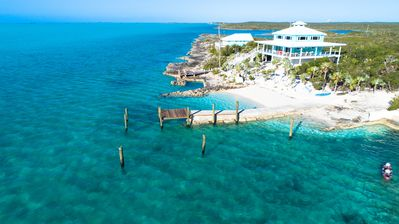 Photo for Luxury Waterfront with private dock and beach Sleeps 8