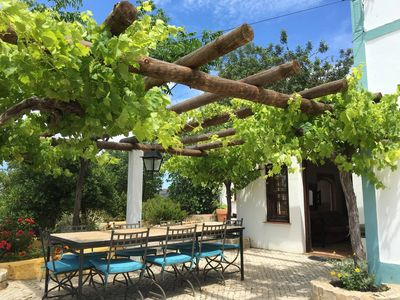 Photo for 5 bedroom traditional house and cottage with pool and garden near Tavira