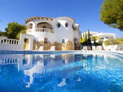 Photo for La Fustera Holiday Home, Sleeps 10 with Pool, Air Con and Free WiFi