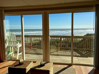 Photo for LITERALLY ON THE BEACH!PANORAMIC VIEWS OF THE GULF!WiFi!/NETFLIX!DOG FRIENDLY