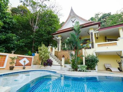 Photo for villa sawadee with swiming pool in tropical garden
