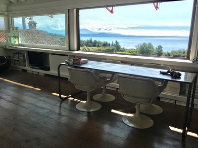 Photo for Design penthouse with lake view