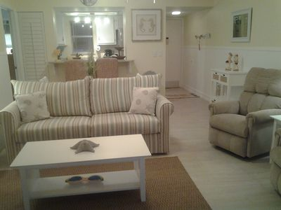 Photo for ACROSS THE STREET FROM MARCO ISLAND'S RESIDENTS BEACH.IST FLOOR UNIT I-1..