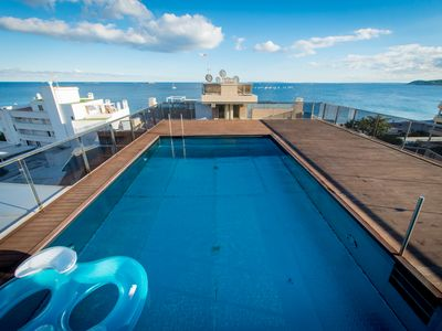 Photo for EXCLUSIVE APARTMENT IBIZA BEACH, SWIMMING POOL, 3 BEDROOMS, 6 PERS.