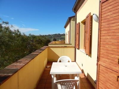Photo for S061 - Sirolo, new three-room apartment with sea view