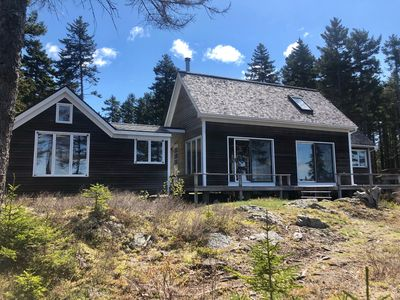 Photo for High above it all with spectacular views of Penobscot Bay-Osprey Nest