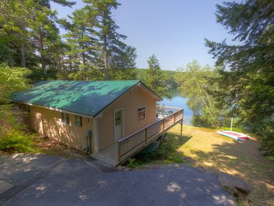 Photo for Comfortable Cottage on Idyllic, Pristine Spring-Fed Coffee Pond