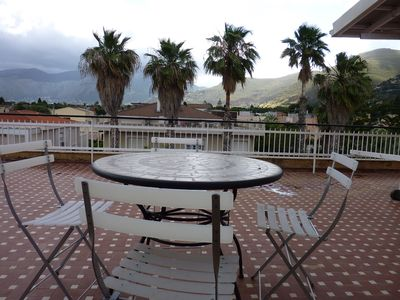 Photo for THE HOUSE ON THE TERRACE IN MONDELLO