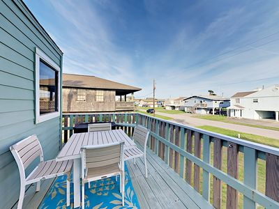 Deck - Feel the ocean breeze from your expansive water-view deck.