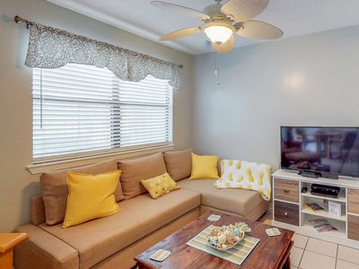 Photo for Bright, colorful condo w/ 12 shared pools, tennis, & more - 2 dogs are welcome!
