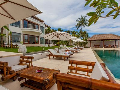 Photo for Contemporary-Colonial Style 4 Bedroom Villa Ocean View, Candidasa;