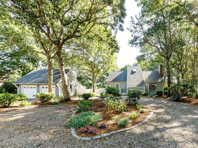 Photo for New Seabury-private pool + golf course views, family friendly