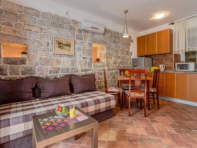 Photo for 1BR Apartment Vacation Rental in Bigovo, Kotor Municipality
