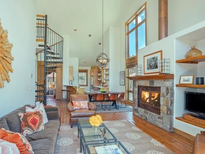 Photo for Enjoy True Ski-in Ski-Out access from this Ideally Located Penthouse Condo with Views of the Ski Hil