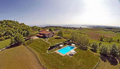 Photo for 4BR Country House / Chateau Vacation Rental in Padenghe, Brescia