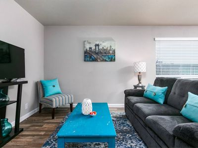Photo for Quiet + Cozy 1BR | Walk to Downtown | Parking