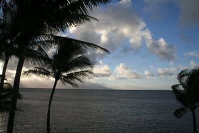 Looking at Maui From the Lanai
