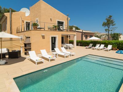 Photo for Sant Vicent de sa Cala Villa, Sleeps 8 with Pool, Air Con and WiFi