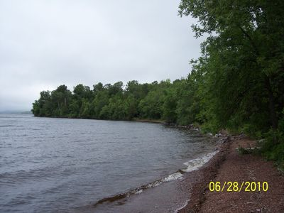 Photo for PRIVATE 3 BEDROOM 2 BATH CABIN ON LAKE GOGEBIC IN THE U. P. OF MICHIGAN