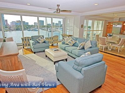 Photo for Waterfront Unit with Dolphins in your Backyard & Easy Walking Distance to Town!