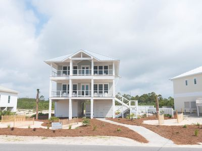 Photo for New luxurious home across from beach, private pool, huge porches, a Must-See!
