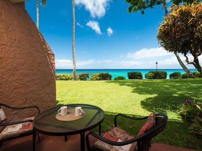 Photo for THE KULEANA MAUI #602, Oceanfront! 1bd 1ba with spectacular views!