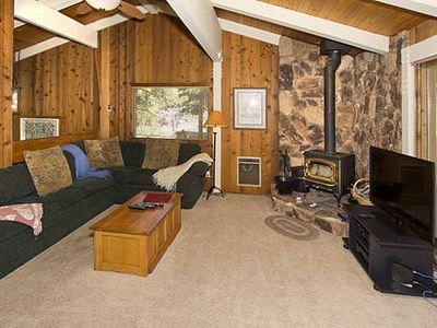 Photo for Pet friendly condo w/ complex amenities and on shuttle route *WiFi, Balcony, Fireplace*