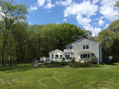 Photo for Bellport/E. Patchogue, 4 Bed, 3 Bath, Waterfront, Private Beach, Very Private