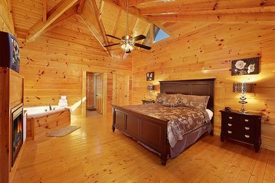 Additional View of Large Master Bedroom.