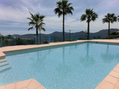 Photo for LUXURY APARTMENT CORNER, A 15 MINUTES FROM CANNES WITH MAGNIFICENT VIEW ON ESTEREL