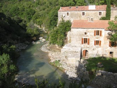 Photo for Languedoc Rousillon Moulin Hauts-Canton Hérault river with