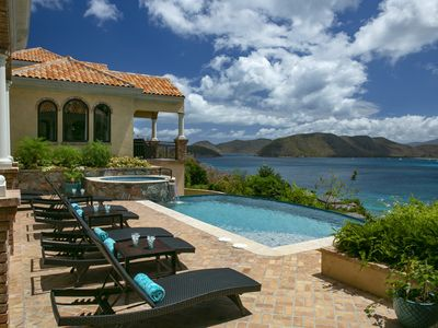Photo for Villa La Vita Peter Bay St. John, Virgin Islands