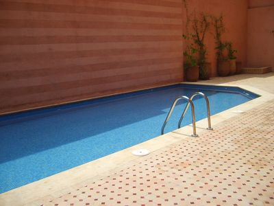 Photo for Marrakech Guéliz Apartment with Pool