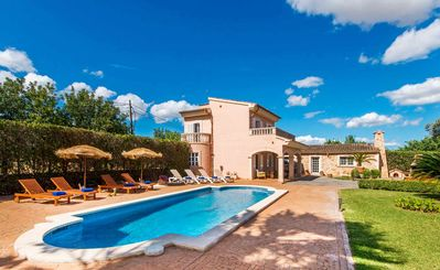 Photo for Mallorcan Finca Private Pool, Tennis & Large Gardens