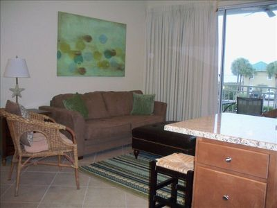 View of Living Room from Kitchen