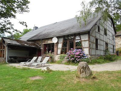 Photo for Well kept gite, short distance from the river and forest.