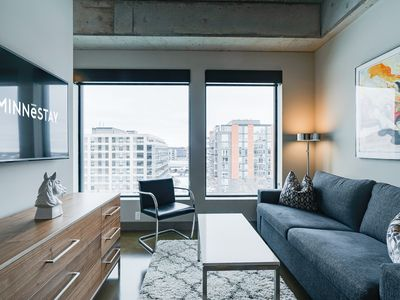 Photo for Minnestay* Sable 62 Alcove ★ The Suite Dream ★ North Loop ★ City Views ★ Free Pa