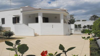 Photo for Holidays on Long sandy Beaches in Puglia in Villa with Garden, BBQ and Veranda