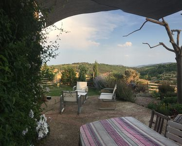 Photo for Villa near the Lac du Salagou with beautiful open view