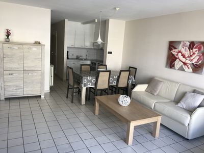 Photo for Koksijde, Nice apartment 6 pers in the center at 200m from the sea