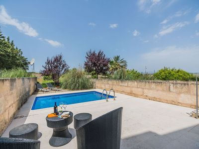 Photo for This 3-bedroom villa for up to 6 guests is located in Maria de la Salut and has a private swimming p