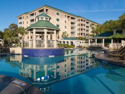 Photo for Hilton Head Marriott Barony Beach Ocean View 2 Bedroom, 7 Nights