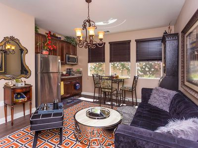 Photo for Cozy 1 bedroom perfect Business travel, Shopping OC, close to Disney, Knotts