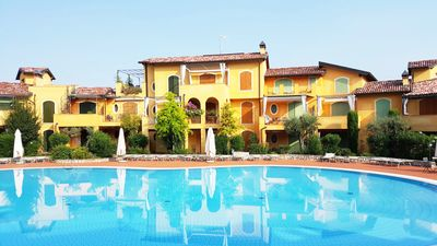 Photo for Beautiful Spacious Apartment In Private Residence, Swimming Pools, by the lake