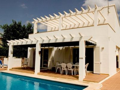 Photo for Detached Modern Family Villa with Private Pool in Quiet Location Close to Beach